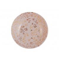 Глубокая тарелка Bosco Dorato, золотистые ветви