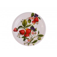 Тарелка 20см SPIGARELLI Strawberry,коллекция клубника