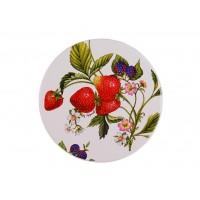 Тарелка большая 26,5 см SPIGARELLI Strawberry, клубника